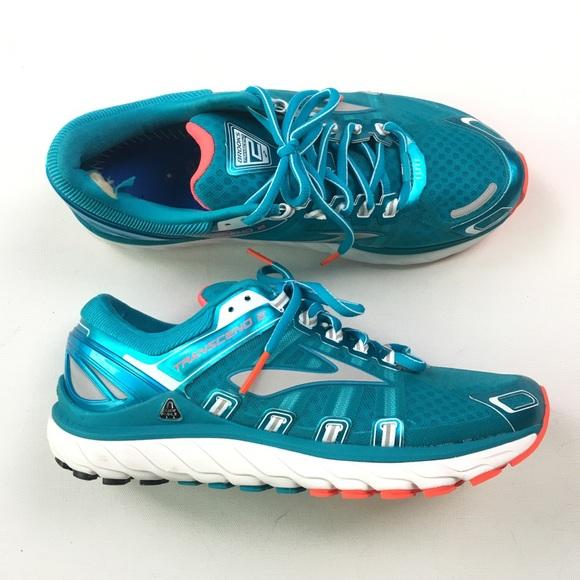 1d65f650e62 Brooks Shoes - Brooks Womens Transcend 2 Running Shoe 10 B02